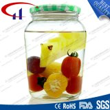 Food Storage High Quanlity Glass Jar with Metal Lid (CHJ8255)