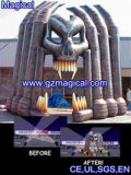 Inflatable Ghost Arch for Holloween House (MIC-386)