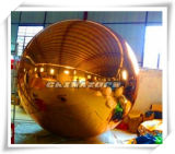 2016 New Coming Golden Inflated Mirror Ball for Party