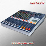 10-Channel Audio Mixer with Effect USB PRO Audio Mixing Console, DJ Mixer
