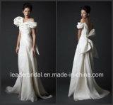 off Shoulder Sleeves Wedding Dress Tulle Krikor Jabotian Bridal Gown W15239