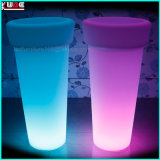 Flower Pot with LED Colour Changing Light