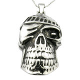 Casting Steel Metal Skull Head Pendant