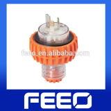 Straight Plug IP66 250V 500V 32A 50A Waterproof Electric Plug
