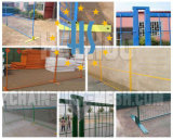 Canada &North America Style Powder Coated Mobile Temporary Fence