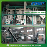 ISO Approved Bamboo Powder Rice Husk Pellet Prodcution Line