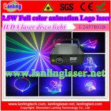 RGB Full Color Animation Laser Disco Light