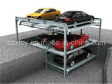 Three Level Simple Parking Equipment with Pit