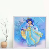 Factory Direct Wholesale New Children DIY Crystal Modern Flower Wall Art Canvas Home Decoration FT-104