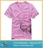 100% Cotton Men′s V Neck T Shirt
