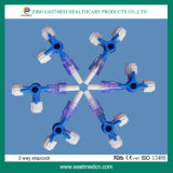 Disposable Medical Three -Way Stopcock CE ISO Approved