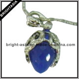 Quality Blue Stone Women Jewelry Necklace for Gift (BYH-10424)