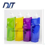 480ml Eco-Friendly Material Stylish Portable Folding Water Bag