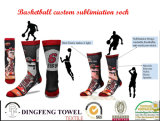 New Fashion Customize Printed Basketball Knee Sock