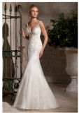 Crystal Beaded Embroidery Bridal Wedding Dresses 2710