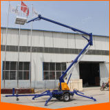 Trailer Mounted Articulated Boom Lift for Warehouse with Ce Certificate