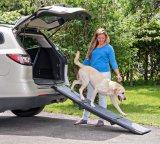 Dog Pet Tri-Fold Ramp 71 Inch Pet Ramp Supports 200lbs