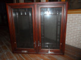 2012 New Design American Style Hand Outward Opening Wooden Window (TS-228)