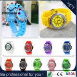 Geneva Silicone Jelly Wristband Quartz Analog Wrist Watch (DC-1247)