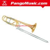 Gold Lacquer Bass Tuning Slide Trombone (Pango PMSL-2800)