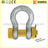 Drop Forged Steel DIN 741 Us Standard Forged Chain Shackles
