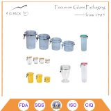 Glass Container with Airtight Cap/Glass Storage Containers