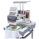 Commercial Computerized Single Head Flat Embroidery Machine for Cap T-Shirt Embroidery