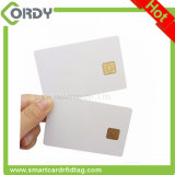 White blank PVC J2A040 chip smart card java card