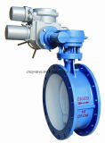 Py16 Dn400 GOST Carbon Steel Electric Butterfly Valve