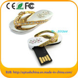 Crystal Shoes Shaped USB Flash Pen Memory Driver (ES126)