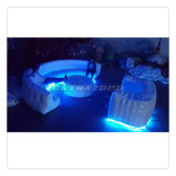 Great Desinged Inflatable Lighting Bar Inflatable Sofa