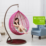 Popular Cheap Price Chair Rattan Hanging Egg Rattan Swing (D011)