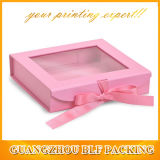 Paper Gift Box with Clear PVC Window (BLF-GB086)