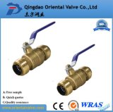 High Quality Fashion Design Pn25 Safe Brass Water Ball Valve with Nice Cost
