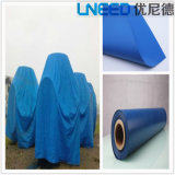China Blue Color PVC Polyester Tarpaulin Cover for Global Market
