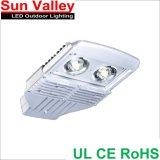 60W LED Street Light Bridgelux COB UL RoHS