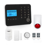 DIY Touch-Panel GSM/PSTN Home Alarm System with Wireless Strobe Siren