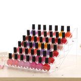 High Transperence Acrylic Makeup Retail Lipstick Display Stand Organization