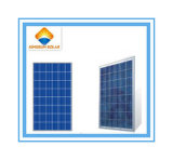Hot Selling 60W Poly-Crystalline Solar Panel with High Efficiency