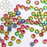 2088 Newest Best Ss20 Peridot Ab Hot Fix Rhinestone Glass Crystal Copy Preciosa Hot Fix Rhinestone (HF-ss20 peridot ab /5A grade)