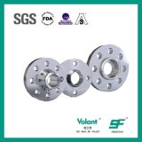 Hygienic Stainless Steel Weld-Neck Flange for High Pressure Pipe Line