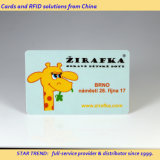 Zoo Park Card Made Plastic with Magnetic Stripe