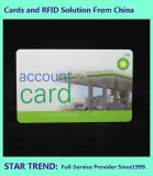 Gasing Card Made Plastic with Magnetic Stripe for Gas Station