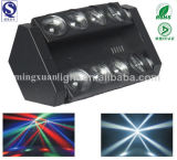 8*10W RGBW Spider LED Beam PRO Light Moving Heads