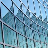 Curtain Wall Unit with Low E Argon Spacer Insulating Glass