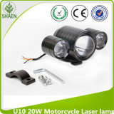 U10 20W LED Car Motorcyale Laser Light 12-80V for Car, Motorcycle, Truck
