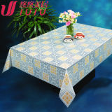 PVC Printed Nt Transparent Tablecloth