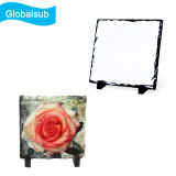 Blank Coated Sublimated Stone Photo Slate with Stand