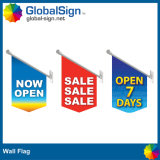 Shop Advertising Full Color Printed Wall Flag (GWF-A)