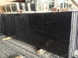 China Black and White, Nero Marquina Marble for Dining Table